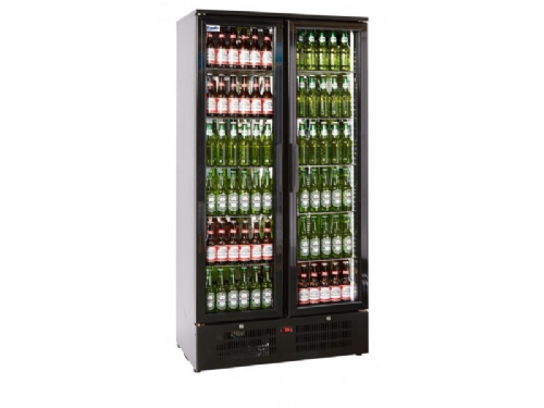 Prodis NT20 Tall Back Bar 2 Door Bottle Cooler